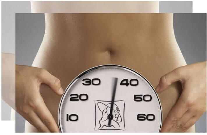 менопауза после 40
