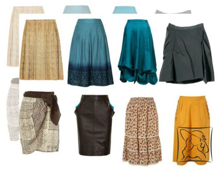Фасоны для женских юбок после 40 лет