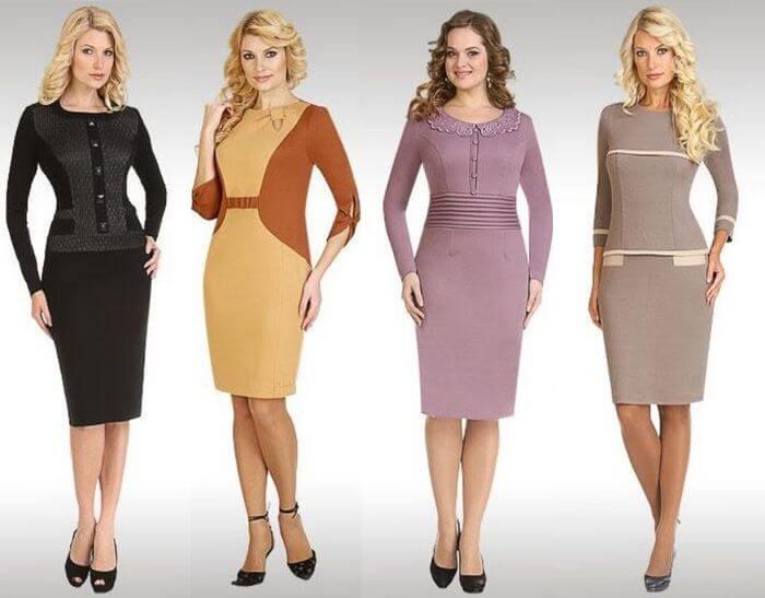 Деловые платья женщине за 40 лет