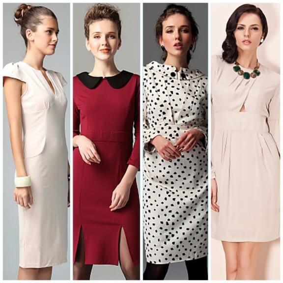 нарядные платья для женщин после сорока