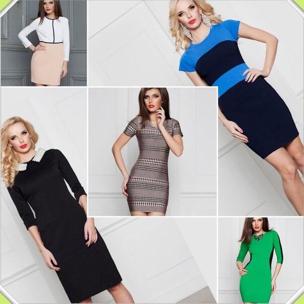 модные платья для женщин за сорок