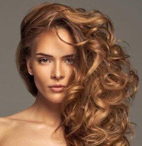Теплые тона карамельного волоса