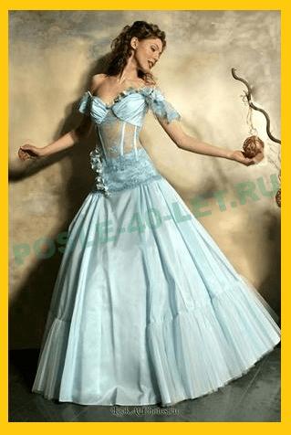 Платье Голубой лед