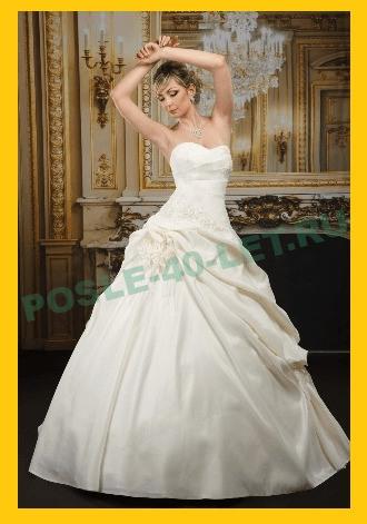 Молочное платье на свадьбу