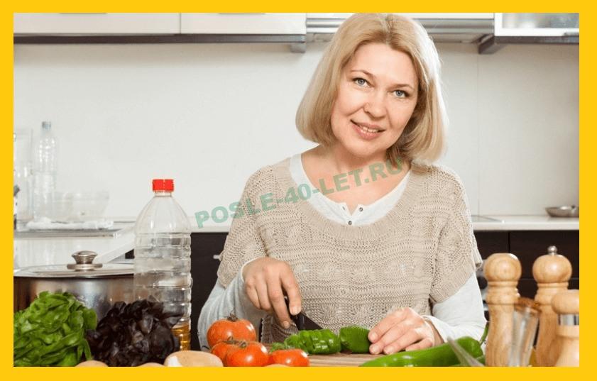 как питаться после 40 лет чтобы похудеть