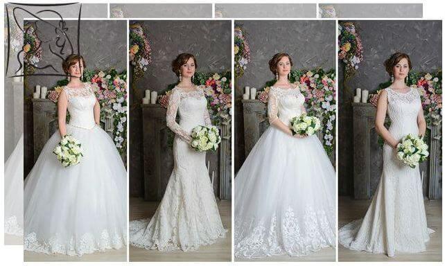 Свадебные наряды для зрелых дам