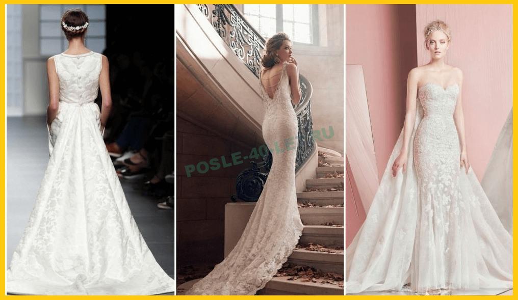 Свадебные платья для невест после 40 лет
