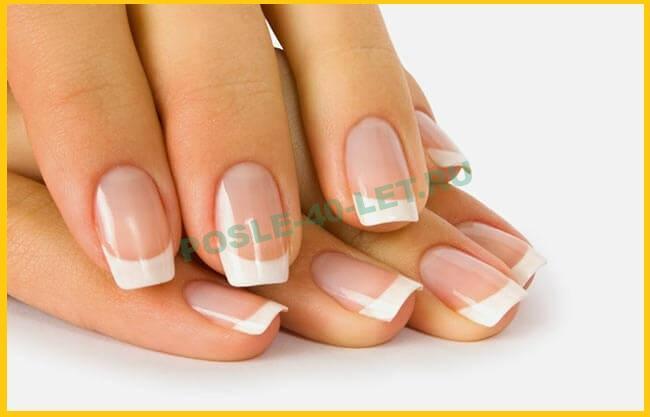 дизайн ногтей для женщины сорока год