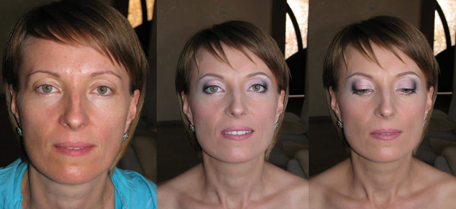 Возрастной макияж глаз с нависающим веком пошаговое фото
