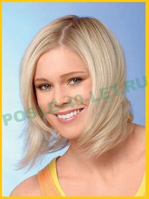 стрижки на средние волосы кому за сорок