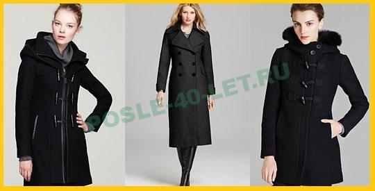 Пальто для девушек за сорок