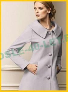 Выбор пальто для женщин средней комплекции